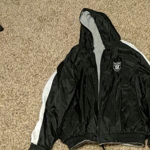 Other - Oakland Raiders reversable coat